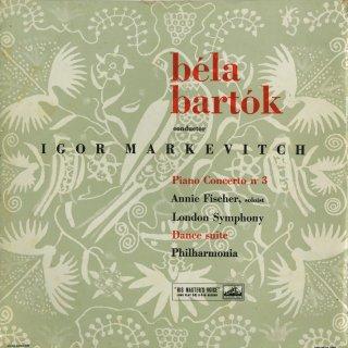 バルトーク:ピアノ協奏曲3番,舞踊組曲