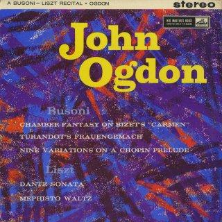 ピアノリサイタル/ブゾーニ:カルメン幻想曲,トゥーランドットの居間,ショパン変奏曲,他