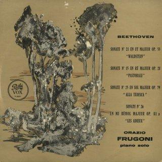 ベートーヴェン:ピアノ・ソナタ15番「田園」,21番「ワルトシュタイン」,25番,26番「告別」