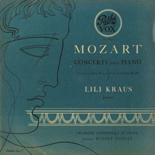 モーツァルト:ピアノ協奏曲19番K.459,23番K.488