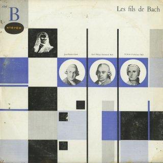 バッハの息子達によるシンフォニア集/J.C.バッハ,C.P.E.バッハ,W.F.バッハ (全5曲)