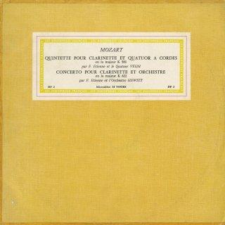 モーツァルト:クラリネット五重奏曲K.581,クラリネット協奏曲K.622
