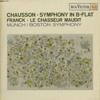ショーソン:交響曲Op.20,フランク:交響詩「のろわれた狩人」