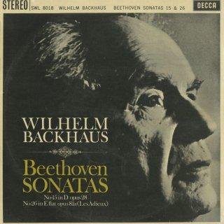 ベートーヴェン:ピアノ・ソナタ15番Op.28「田園」,26番Op.81a「告別」