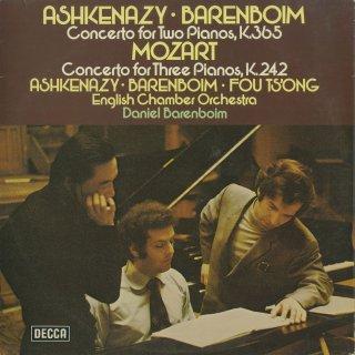 モーツァルト:2ピアノ協奏曲K.365,3ピアノ協奏曲K.242