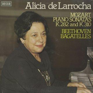 モーツァルト:ピアノ・ソナタ4番K.282,8番K.310,ベートーヴェン:7つのバガテルOp.33