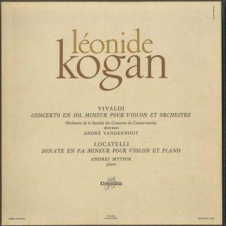 ヴィヴァルディ:協奏曲,ロカテッリ:ヴァイオリン・ソナタ