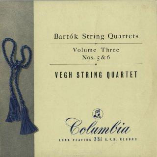 バルトーク:弦楽四重奏曲5,6番