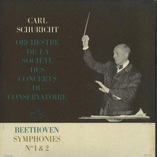 ベートーヴェン:交響曲1番Op.21,2番Op.36