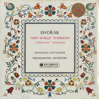 ドヴォルザーク:交響曲9番Op.95「新世界」,序曲「謝肉祭」Op.92