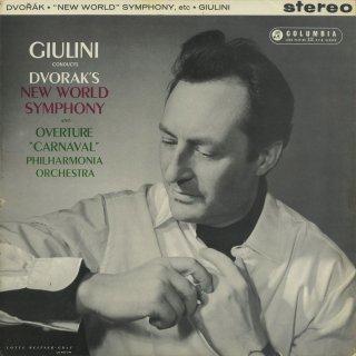 ドヴォルザーク:交響曲9番Op.95「新世界」,謝肉祭序曲Op.92