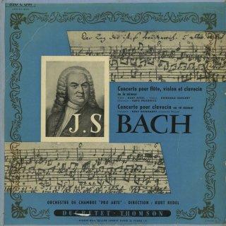 バッハ:三重協奏曲B.1044,Cemb協奏曲1番B.1052