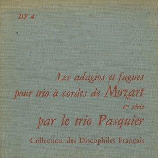 モーツァルト:バッハの作品によるアダージョとフーガ(4曲)