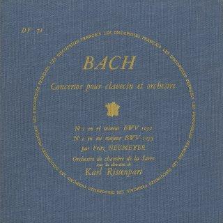 バッハ:Cemb協奏曲1〜5,7番,2Cemb協奏曲B.1060