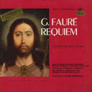 フォーレ:レクイエムOp.48,ラシーヌ讃歌Op.11