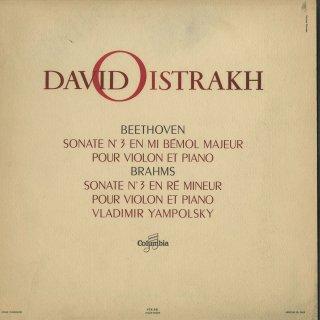 ベートーヴェン:ヴァイオリン・ソナタ3番,ブラームス:ヴァイオリン・ソナタ3番