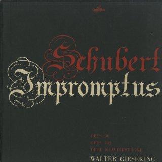 シューベルト:即興曲Op.90(4曲),142(4曲),3つの小品