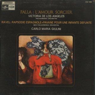 ファリャ:恋は魔術師,ラヴェル:スペイン狂詩曲,亡き王女のためのパヴァーヌ