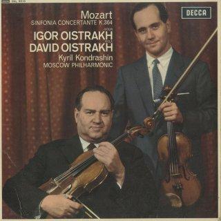 モーツァルト:協奏交響曲K.364