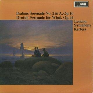 ブラームス:セレナーデ2番Op.16,ドヴォルザーク:セレナーデOp.44
