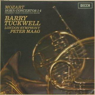 モーツァルト:ホルン協奏曲1〜4番