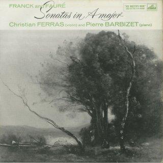 フランク:ヴァイオリン・ソナタ,フォーレ:ヴァイオリン・ソナタ1番Op.13