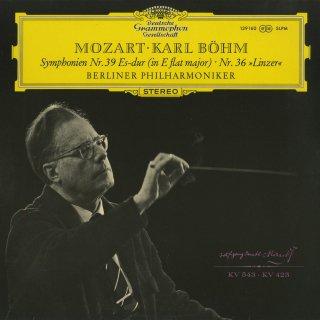 モーツァルト:交響曲39番K.543,36番K.425「リンツ」
