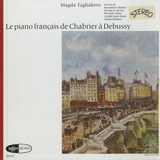 「フランスピアノ曲集」シャブリエ(2曲),セヴラック,アーン,サン・サーンス,他