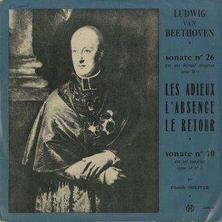 ベートーヴェン:ピアノ・ソナタ26番Op.81a「告別」,10番Op.14−2