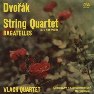 ドヴォルザーク:弦楽四重奏曲10番Op.51,バガテルOp.47