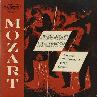 モーツァルト:ディヴェルティメントK.Anh.226,Anh.227