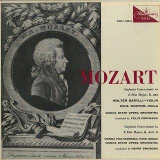 モーツァルト:協奏交響曲K.364,K.Anh.9(K.297b)