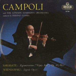サラサーテ:ツィゴイネルワイゼンOp.20−1,ヴィエニャフスキ:伝説曲Op.17