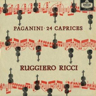 パガニーニ:24の奇想曲Op.1