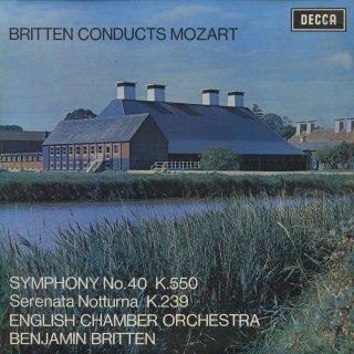 モーツァルト:交響曲40番K.550,セレナーデ6番K.239「セレナータ・ノットゥルナ」