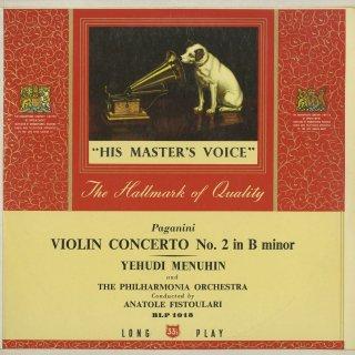 パガニーニ:ヴァイオリン協奏曲2番「ラ・カンパネラ」Op.7