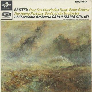 ブリテン:4つの海の間奏曲,青少年のための管弦楽入門