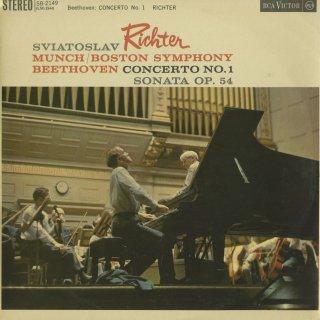 ベートーヴェン:ピアノ協奏曲1番Op.15,ピアノ・ソナタ22番Op.54