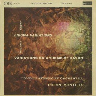 エルガー:エニグマ変奏曲Op.36,ブラームス:ハイドン変奏曲Op.56a