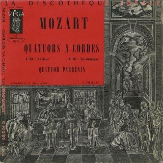 モーツァルト:弦楽四重奏曲17番K.458「狩」,19番K.465「不協和音」