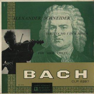 バッハ:無伴奏ヴァイオリン・ソナタB.1001〜1006(全6曲)