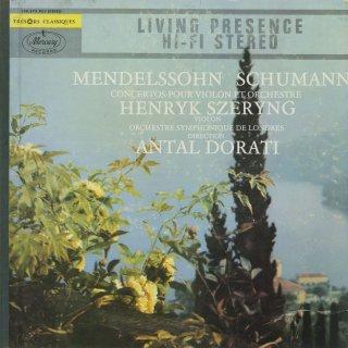 ヴァイオリン協奏曲集/メンデルスゾーン:Op.64,シューマン