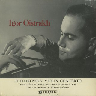 チャイコフスキー:ヴァイオリン協奏曲,サン・サーンス:序奏とロンド・カプリチョーソ