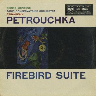 ストラヴィンスキー:ペトルーシュカ,組曲「火の鳥」