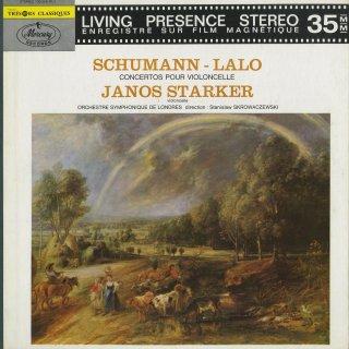 チェロ協奏曲集/シューマン:Op.129,ラロ