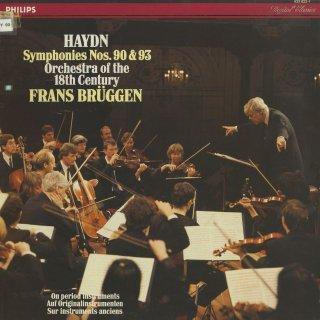 ハイドン:交響曲90,93番
