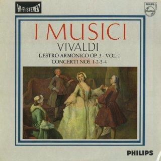 ヴィヴァルディ:合奏協奏曲集「調和の霊感」Op.3(全12曲)