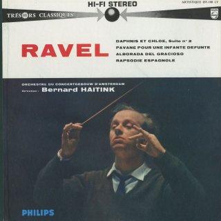 ラヴェル:ダフニスとクロエ第2組曲,パヴァーヌ,道化師の朝の歌,スペイン狂詩曲