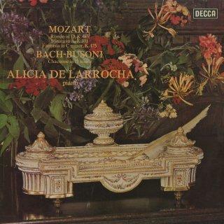 モーツァルト:ロンドK.485,ピアノ・ソナタK.331,幻想曲K.475,バッハ(ブゾーニ編):シャコンヌ