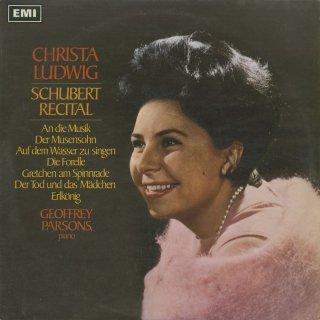 「シューベルト・リサイタル(歌曲集)」音楽に寄せて,ミューズの子,ガニュメート,他全12曲